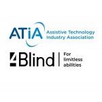 Компания 4Blind стала членом ведущей ассоциации в индустрии вспомогательных технологий ATIA. Вступление в американскую ассоциацию.....