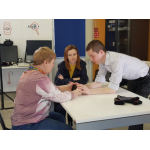 In April 2019, we tested the Perkins Case device. Testing took place in the center of assistive technologies for the deaf-blind