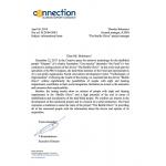 Спешу сообщить об очень важном письме, полученном по завершении двухлетнего тестирования Перчатки Брайля, которое проводилось в Москве на базе обучающего центра.....